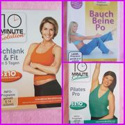 3 Fitness DVDs in sehr