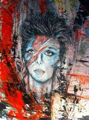 Acrylgemälde Abstrakt auf Leinwand Unikat