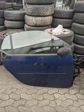 Smart 450 Fahrertür Tür rechts Coupe star blue metallic
