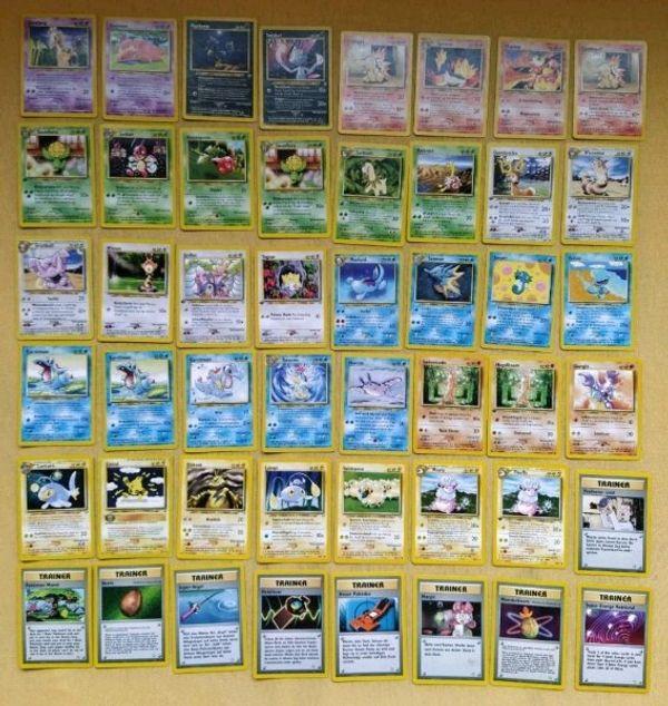 Pokemon Karten verschiedene Editionen