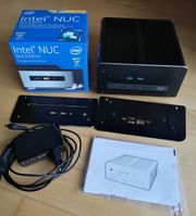Intel NUC Computer kompakt passiv
