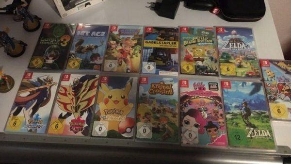 Diverse Top Nintendo Switch Spiele