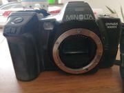 Analoge Fotoausrüstung Minolta DYNAX 7000i