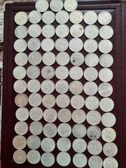 Münzen konvolut 80 Stücke