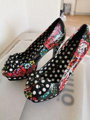 peeptoes high heels Schuhe Absatz