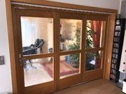 Dreiteilige Innenraumtür zum schieben Schreinerarbeit
