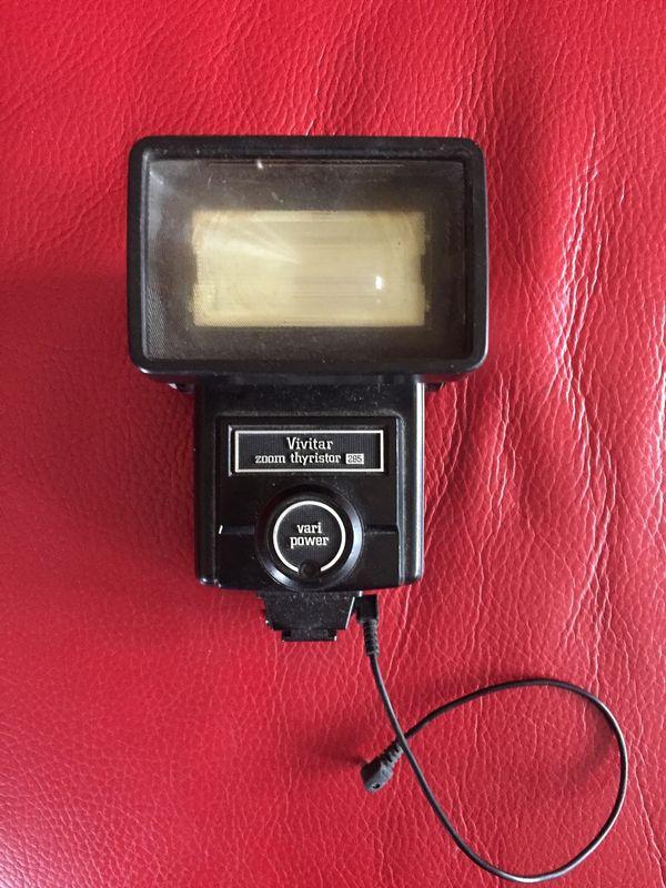 Vivitar Zoom Thyristor 285 Teleflash