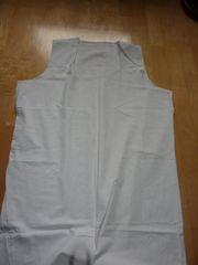 Mittelalter weißes Unterkleid