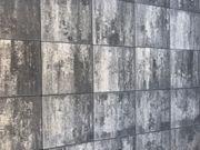 Wunderschöne Terassenplatten in anthrazit weiß-nuanciert