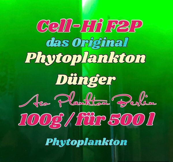 Cell HI F2P Phytoplankton Dünger