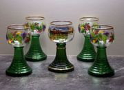 Römer-Gläser farbig 5x K20