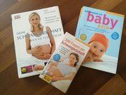 3er Set Schwangerschaftsratgeber und Baby-Buch