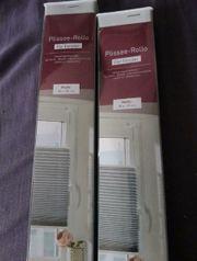2x Plisee Rollo für Fenster