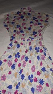 Sommerkleid geblümt Gr 36