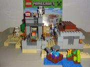 Lego 21121 Minecraft Wüstenaußenposten Figuren