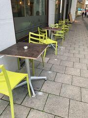 Gastronomie Auflösung Terrasse 48 Stühle