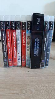 VERKAUFE PS3-Spiele
