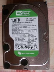 SATA-Festplatte 1 0 TB Western