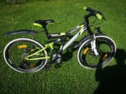 24 Zoll Fully Mountainbike Kinderfahrrad