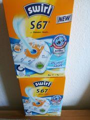 Staubsaugerbeutel Swirl S67