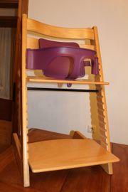 Stokke-Kinderstuhl inkl Babyset Rückenlehne und