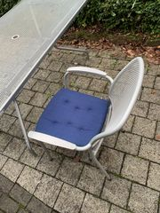 Gartentisch 7 Stühle