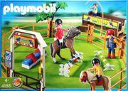 Playmobil -Reiterhof- Springplatz - PLAYMOBIL 4185