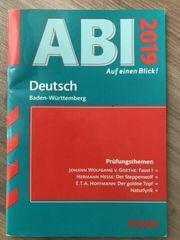 Abi 2019 Deutsch Baden-Württemberg Auf