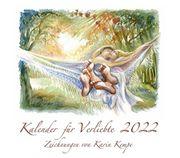 Kunst Kalender Verliebte 2022 Bleistiftzeichnung
