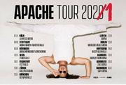 2x Apache 207 Ticket Mannheim