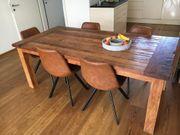Holztisch massiv