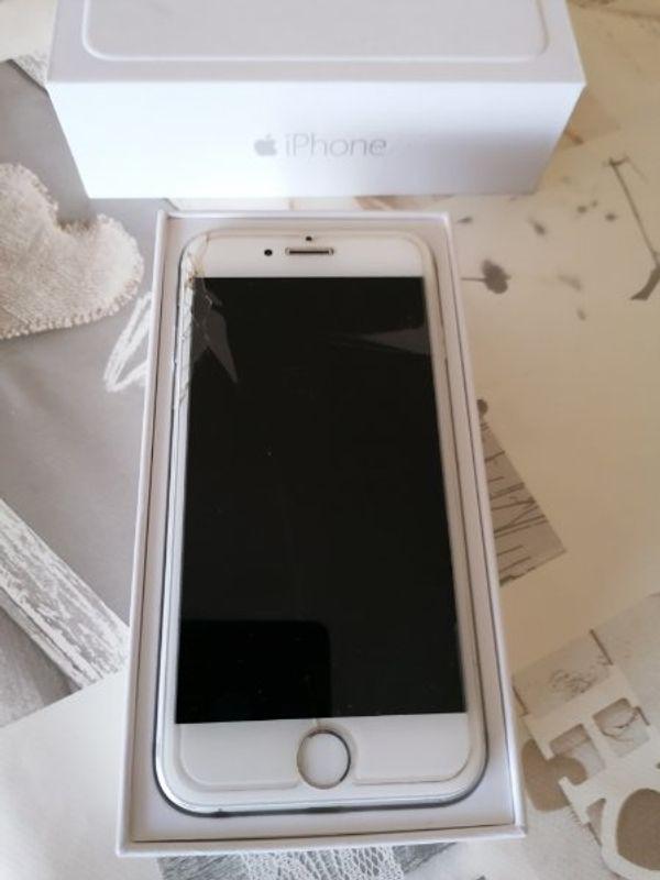 Iphone 6 64gb Weiß /Silber