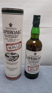 Whisky Laphroaig 10 J Cask