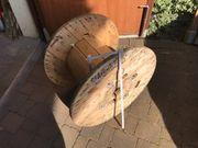 Kabel Holz Palette