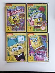 4x Spongebob Schwammkopf DVD