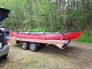 Kanu 4 Sitzer 1 Boot