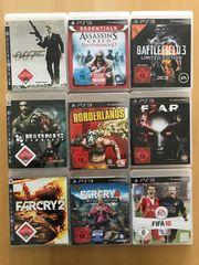 PlayStation 3 diverse Spiele Spielesammlung