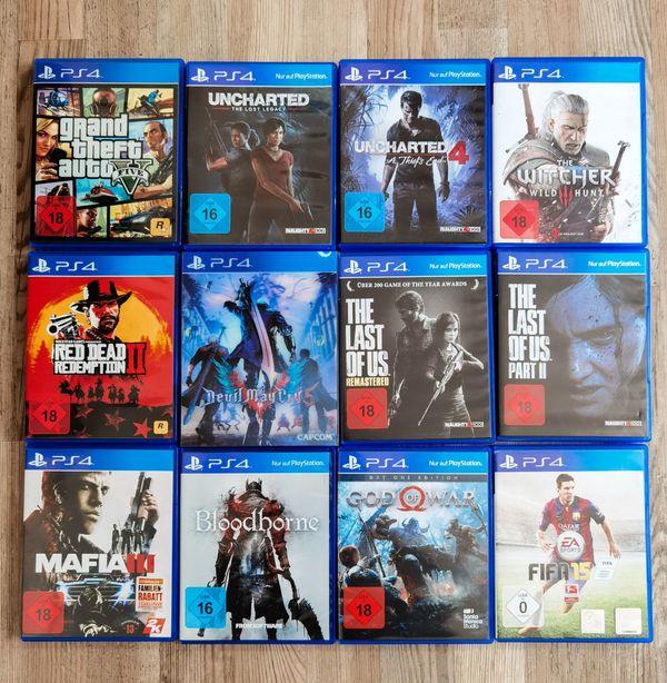 Diverse PS4- Spiele