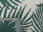 Outdoor Teppich dunkelgrün 120 x