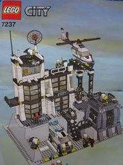 RESERVIERT Lego City Polizeistation Police