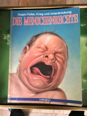 Buch Bildband Comic DIE MENSCHENRECHTE