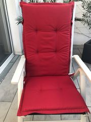 6 x Hochlehner Stuhlauflagen