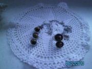 Silberhalskette mit Ring