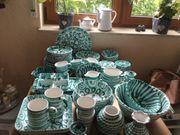 Gmundner Keramik grün geflammt