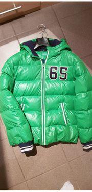 Benetton stylische Daunenjacke 160cm