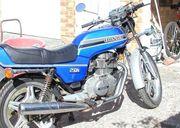 Oldtimer Honda CB 250 Motorrad