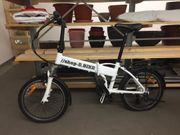 E-Bike Elektro Klapp Fahrrad wie
