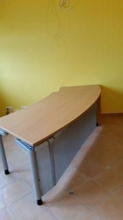 Schreibtisch mit Schubladencontainer Pfalzmöbel