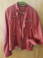 Damen Jacke Rot Neuwertig