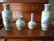 Porzellanvasen aus Asien
